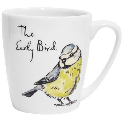 Churchill Country Pursuits Mug Acorn The Early Bird Blue Tit