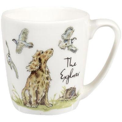 Churchill Country Pursuits Mug Acorn The Explorer Spaniel