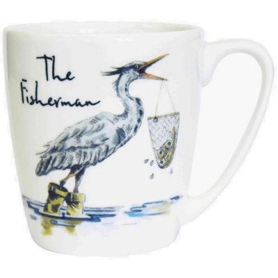 Churchill Country Pursuits Mug Acorn The Fisherman Heron