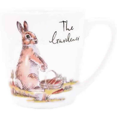 Churchill Country Pursuits Mug Acorn The Gardener Rabbit