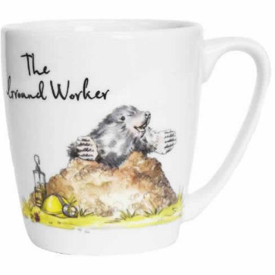 Churchill Country Pursuits Mug Acorn The Ground Worker Mole