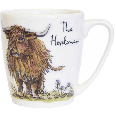 Churchill Country Pursuits Mug Acorn The Herdsman Highland Coo
