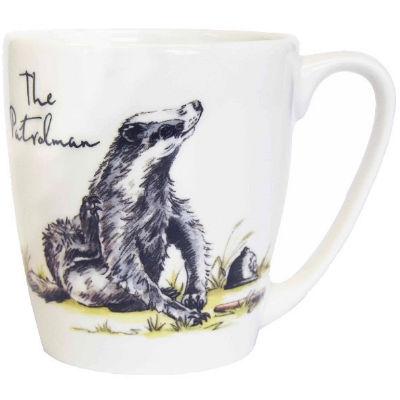 Churchill Country Pursuits Mug Acorn The Patrolman Badger