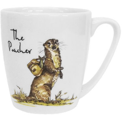Churchill Country Pursuits Mug Acorn The Poacher Otter