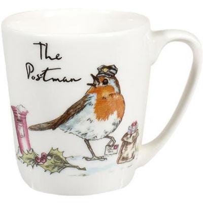 Churchill Country Pursuits Mug Acorn The Postman Robin