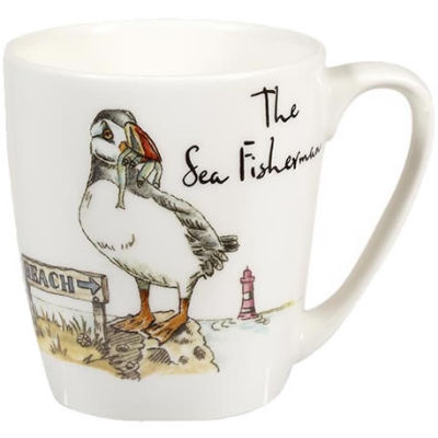 Churchill Country Pursuits Mug Acorn The Sea Fisherman Puffin