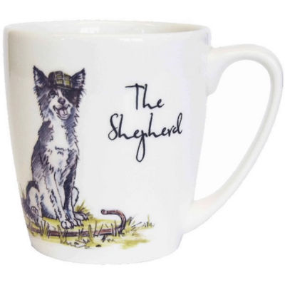Churchill Country Pursuits Mug Acorn The Shepherd Sheep Dog