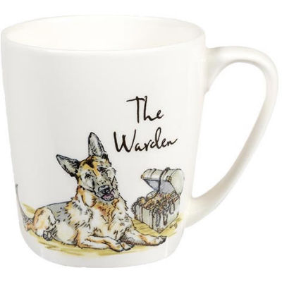 Churchill Country Pursuits Mug Acorn The Warden German Shepherd