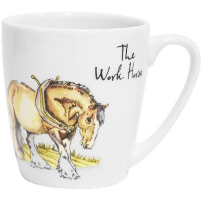 Churchill Country Pursuits Mug Acorn The Work Horse Shire Horse