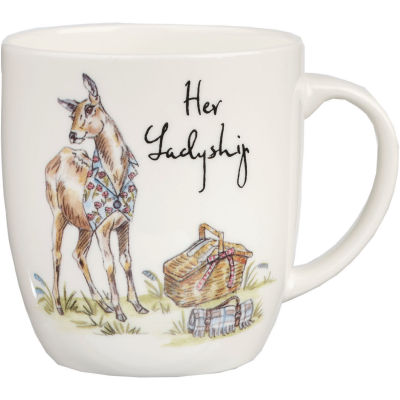 Churchill Country Pursuits Mug Her Ladyship Deer
