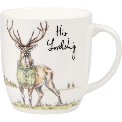 Churchill Country Pursuits Mug His Lordship Stag