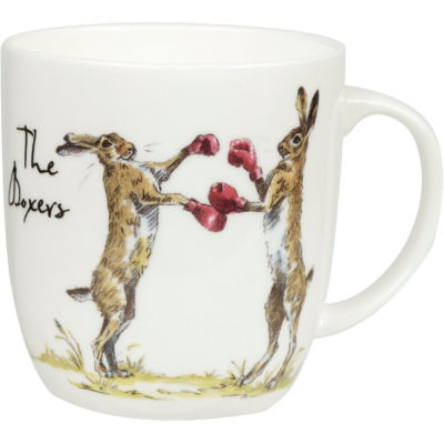 Churchill Country Pursuits Mug The Boxers Hare