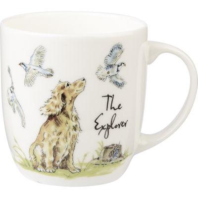 Churchill Country Pursuits Mug The Explorer Spaniel