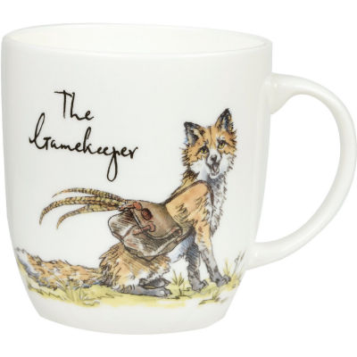 Churchill Country Pursuits Mug The Gamekeeper Fox