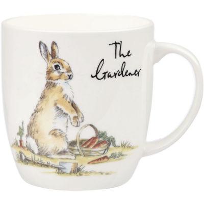 Churchill Country Pursuits Mug The Gardener Rabbit
