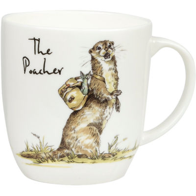 Churchill Country Pursuits Mug The Poacher Otter