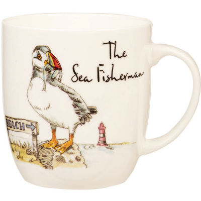 Churchill Country Pursuits Mug The Sea Fisherman Puffin