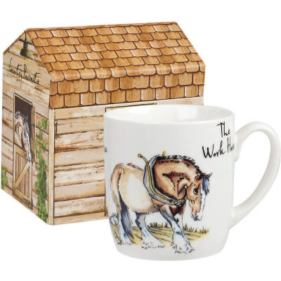 Churchill Country Pursuits Mug The Workhorse Shire Horse