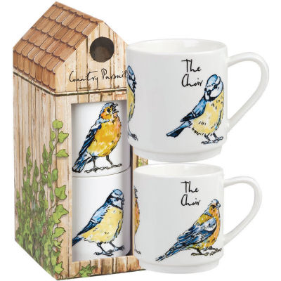 Churchill Country Pursuits Stacking Mug Set of 2 The Choir