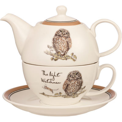 Churchill Country Pursuits Tea For One The Night Watchman Owl