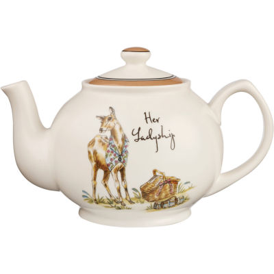 Churchill Country Pursuits Teapot Her Ladyship Deer
