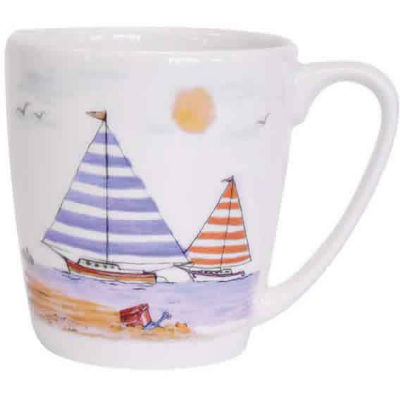 Churchill Queens Mugs Mug Acorn Along The Coast Beach Front