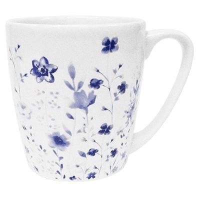Churchill Queens Mugs Mug Acorn Aquarelle Cottage Garden Blue