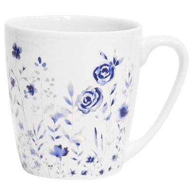 Churchill Queens Mugs Mug Acorn Aquarelle Hedgerow Blue