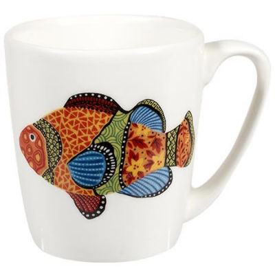 Churchill Queens Mugs Mug Acorn Paradise Fish Clown Fish