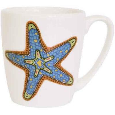 Churchill Queens Mugs Mug Acorn Paradise Fish Starfish