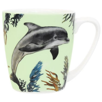 Churchill Queens Mugs Mug Acorn Sealife Dolphin