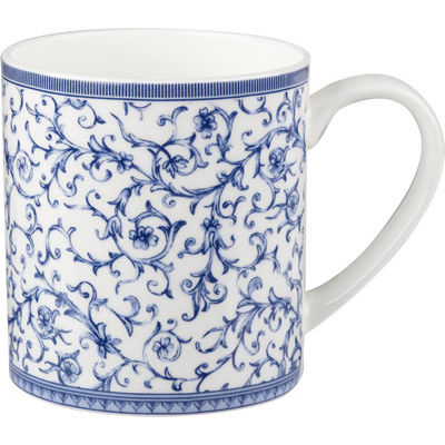 Churchill Queens Mugs Mug Can Blue Story Arabesque