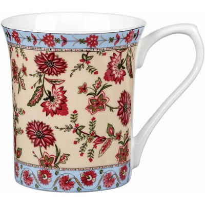Churchill Queens Mugs Mug Small Ceylon Blossoms Nuwara I
