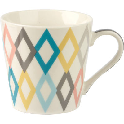 Churchill Queens Mugs Mug Geometrics Lattice Diamond
