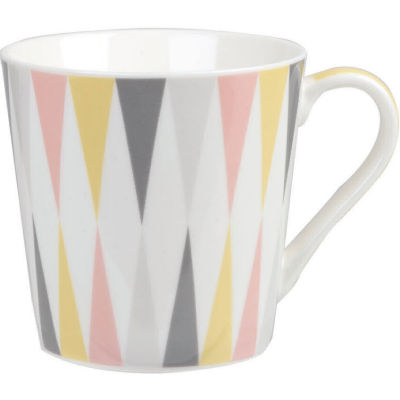 Churchill Queens Mugs Mug Geometrics Trinity Geo