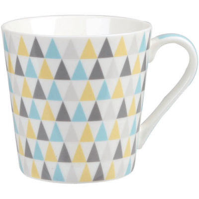 Churchill Queens Mugs Mug Geometrics Trinity Triangle