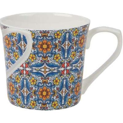 Churchill Queens Mugs Mug Large Portugal Orange