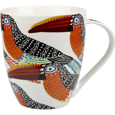 Churchill Queens Mugs Mug Large Tribal Toucans