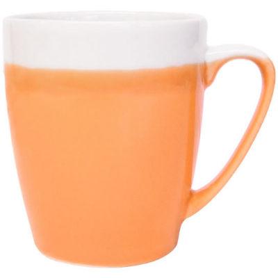 Churchill Queens Mugs Mug Oak Cosy Blends Pumpkin Orange