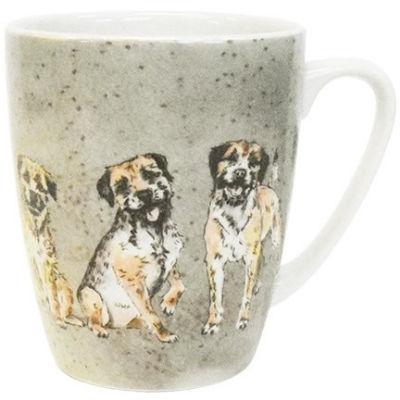 Churchill Queens Mugs Mug Oak Couture Companions Border Terriers