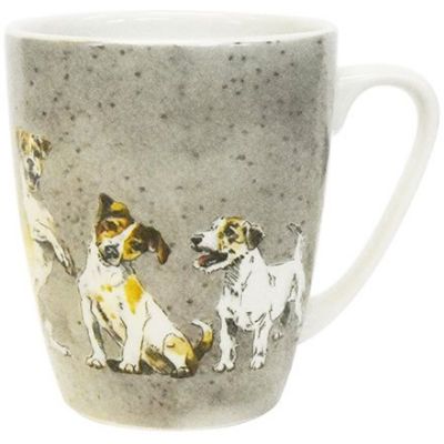 Churchill Queens Mugs Mug Oak Couture Companions Jack Russell Terriers