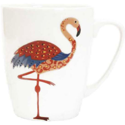 Churchill Queens Mugs Mug Oak Paradise Birds Flamingo