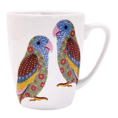 Churchill Queens Mugs Mug Oak Paradise Birds Love Birds