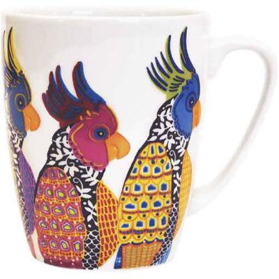 Churchill Queens Mugs Mug Oak Paradise Birds Parakeets