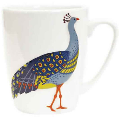 Churchill Queens Mugs Mug Oak Paradise Birds Peacock