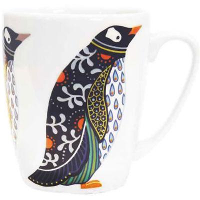 Churchill Queens Mugs Mug Oak Paradise Birds Penguin