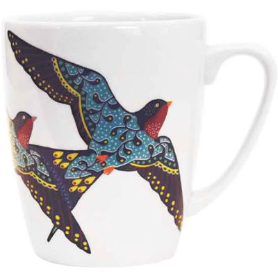 Churchill Queens Mugs Mug Oak Paradise Birds Swallow