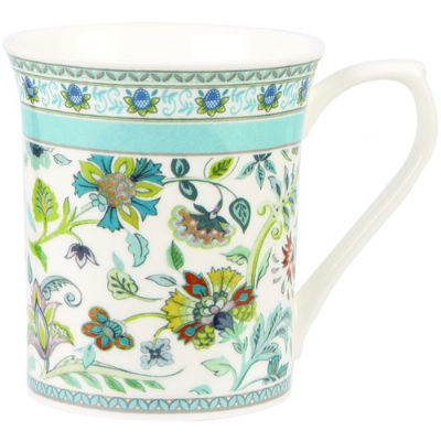 Churchill Queens Mugs Mug Small Antique Floral Blue