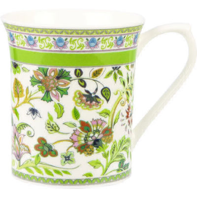 Churchill Queens Mugs Mug Small Antique Floral Green