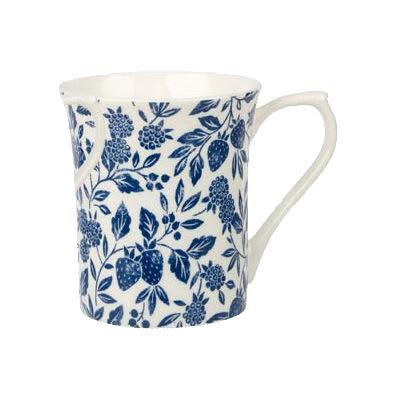 Churchill Queens Mugs Mug Small Blue Story Antique Floral